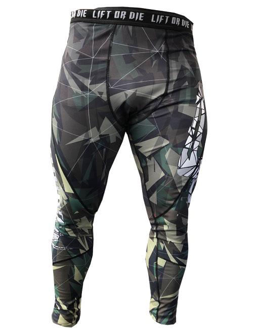 Legging pour la musculation Homme Camouflage d7b24699853