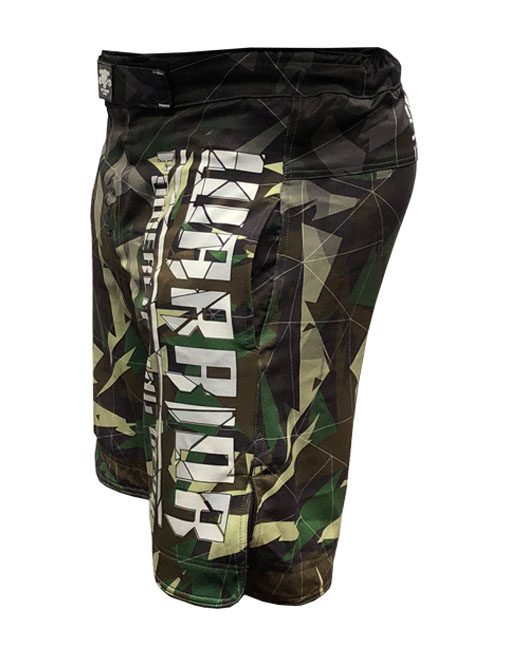 short muscu camo warrior gear - fight short