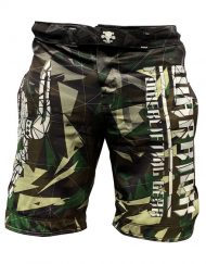 short musculation warrior - short camo sport