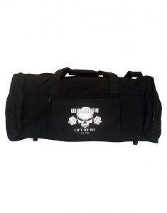 sac de sport musculation - sac noir warrior gear