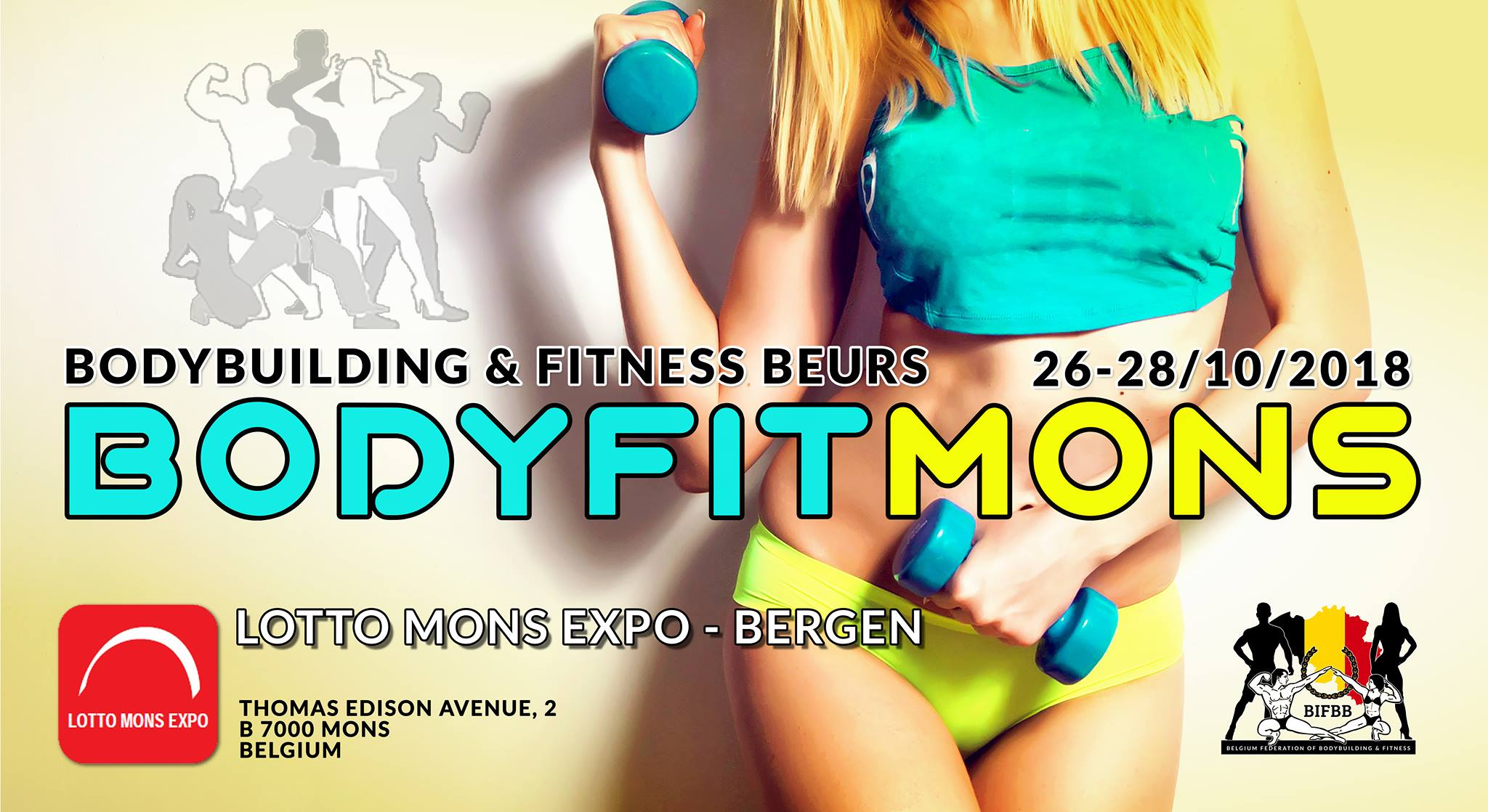 salon bodyfit mons 2018 warrior gear