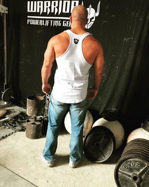 stringer gris musculation - debardeur bodybuilding
