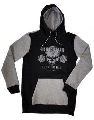 sweat capuche musculation warrior - sweat fitness homme