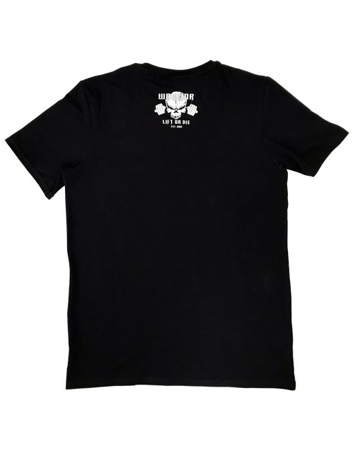 tshirt noir fitness - tshirt noir warrior