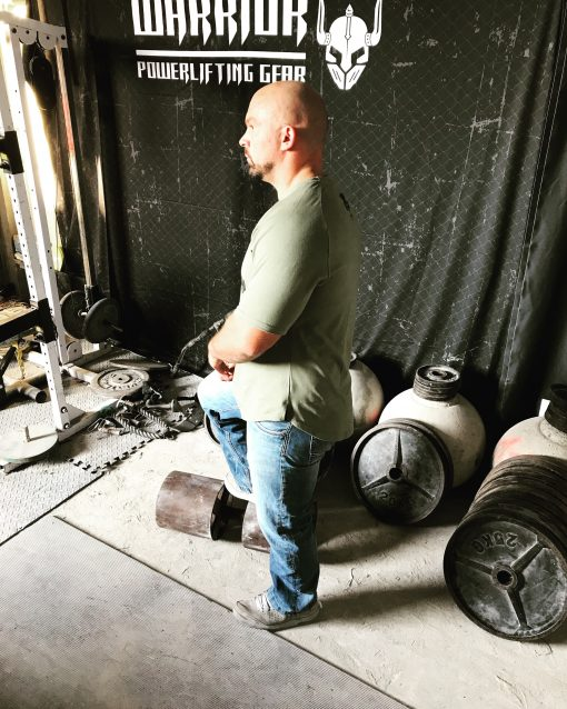 tshirt sport homme vert - tshirt fitness - tshirt musculation