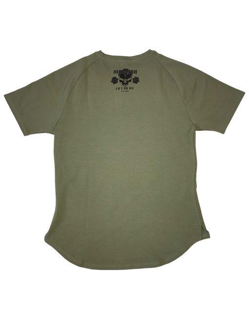 vetement fitness homme - tshirt fitness - tshirt vert musculation