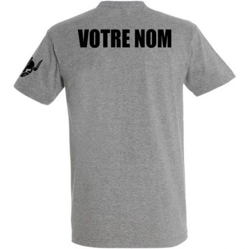t-shirt personnalise sport warrior - marquage nom tshirt