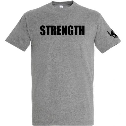 t-shirt warrior strength - tshirt sport personnalise nom