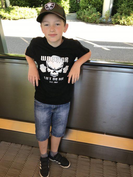 tshirt enfant musculation tshirt enfant powerlifting
