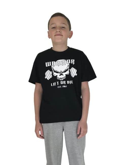 tshirt enfant musculation