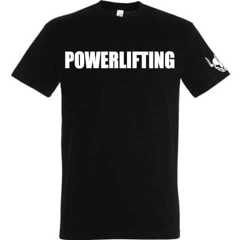 tshirt noir personnalise musculation