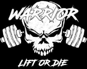 tshirt warrior powerlifting rage