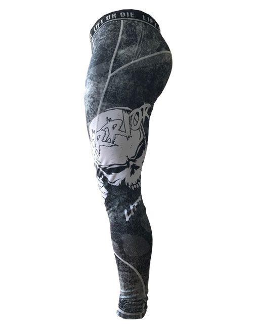 legging bodybuilding homme - legging skull - legging warrior gear