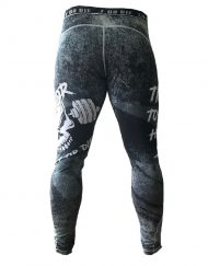 legging musculation homme - legging powerlifting - legging fitness - legging skull