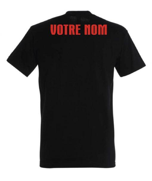 t-shirt strongman noir