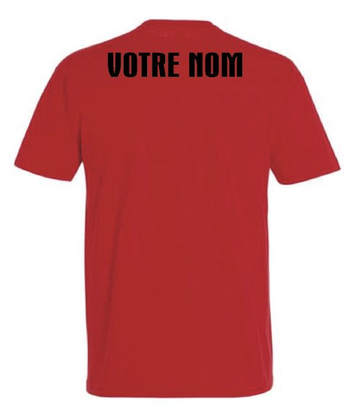 t-shirt strongman rouge - grand prix strongman international de saint quentin
