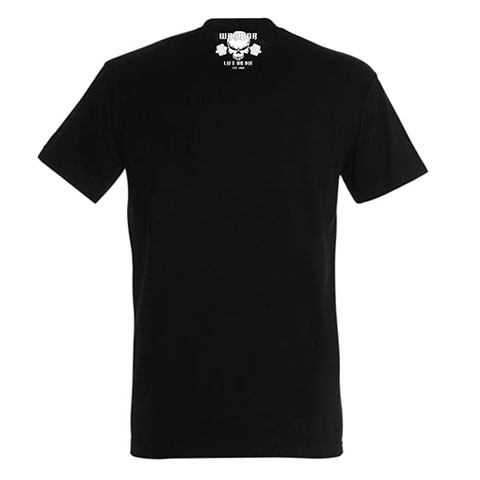 tshirt noir warrior strongman