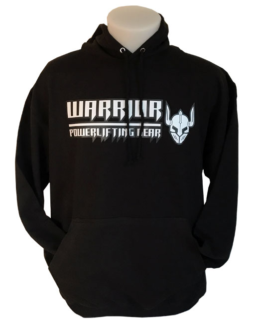 sweat capuche warrior powerlifting gear