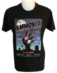 tshirt ammonia party warrior gear - tshirt ammoniac - tshirt bodybuilding fitness powerlifting