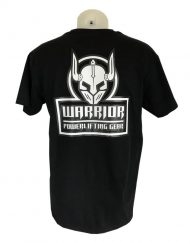 tshirt warrior gear noir - tshirt noir powerlifting