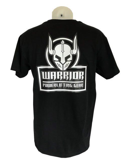 tshirt warrior gear noir - tshirt noir powerlifting