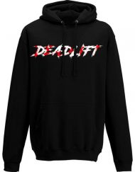 sweat capuche deadlift - sweat capuche powerlifting femme