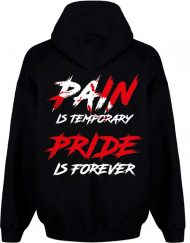 sweat pain is temporary - bodybuilding motivation