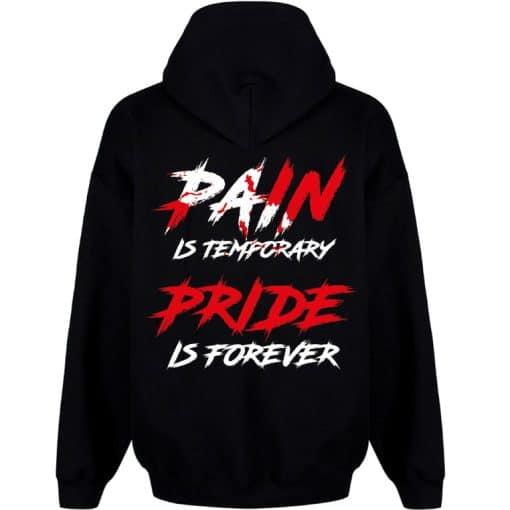 sweat powerlifting pain - sweat capuche noir powerlifting