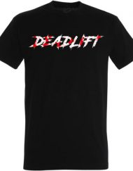 deadlift black t-shirt - powerlifting t-shirt