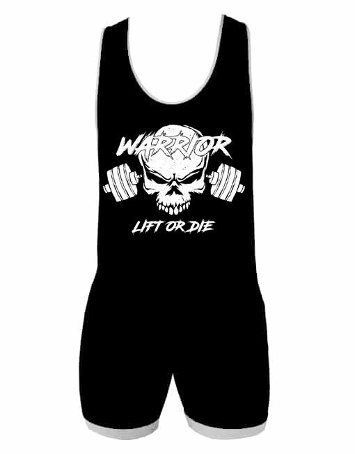 singlet powerlifting lift or die - Warrior Gear