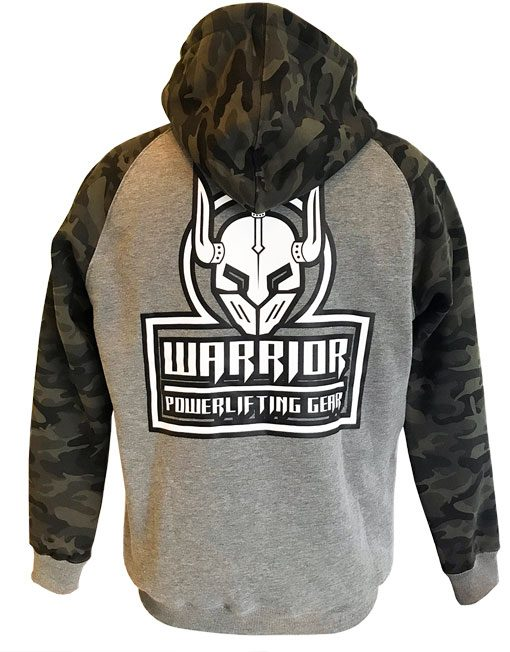 sweat zip musculation - sweat capuche zippé musculation - powerlifting - warrior gear