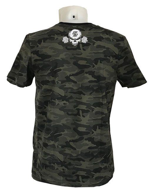 tshirt camo musculation - tshirt musculation camouflage - tshirt powerlifting - tshirt bodybuilding