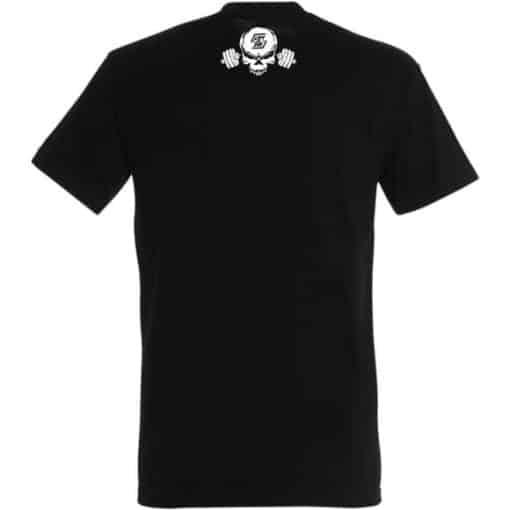 tshirt fitness noir - tshirt musculation noir - tshirt powerlifting noir