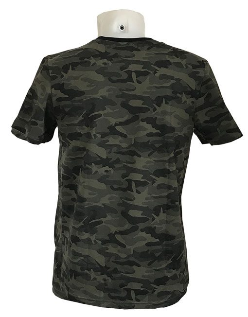 tshirt musculation camo - tshirt warrior gear