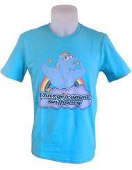 t-shirt musculation chargé dopé - tshirt dopage humoristique