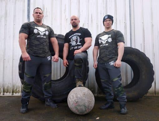 tshirt jason musculation warrior gear