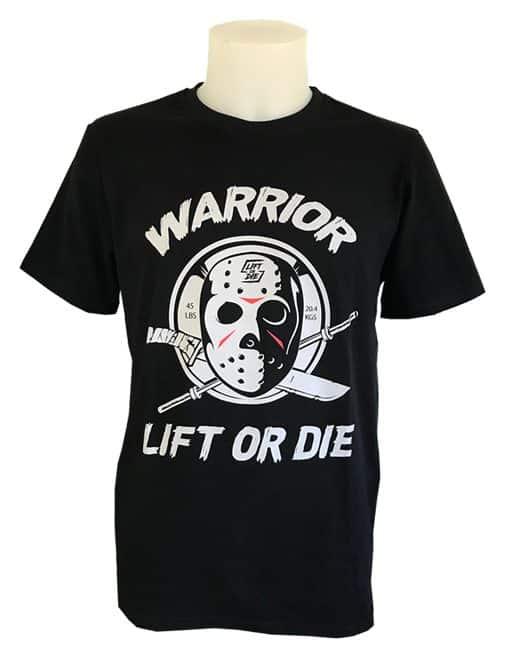 tshirt jason vendredi 13 musculation - tshirt hardcore powerlifting