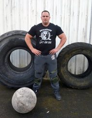 tshirt powerlifting warrior gear - tshirt strongman hardcore