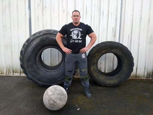 tshirt powerlifting warrior gear - tshirt strongman hardcore