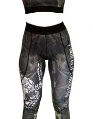 ensemble fitness femme camo warrior gear - ensemble musculation - legging femme - brassiere femme - ensemble sport