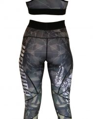 ensemble musculation femme camo warrior gear - ensemble musculation - legging femme - brassiere femme - ensemble sport