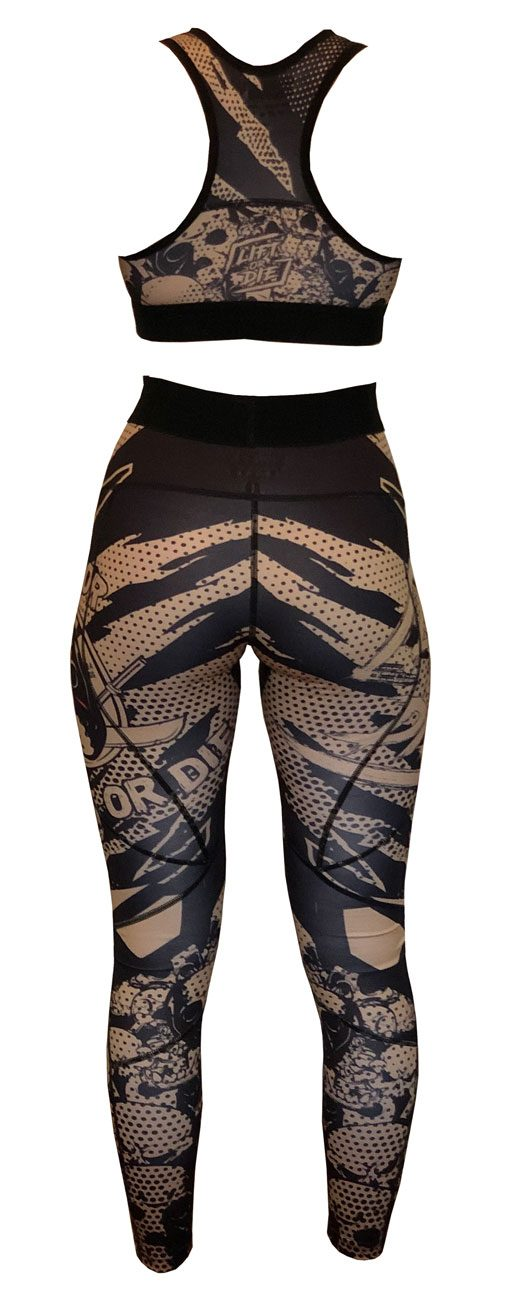 ensemble musculation femme warrior - ensemble fitness femme warrior gear