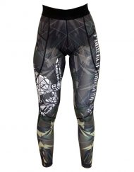 legging fitness femme camo - legging musculation femme camo / origami - legging femme warrior gear