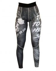 legging fitness skull - legging musculation lift or die - legging femme