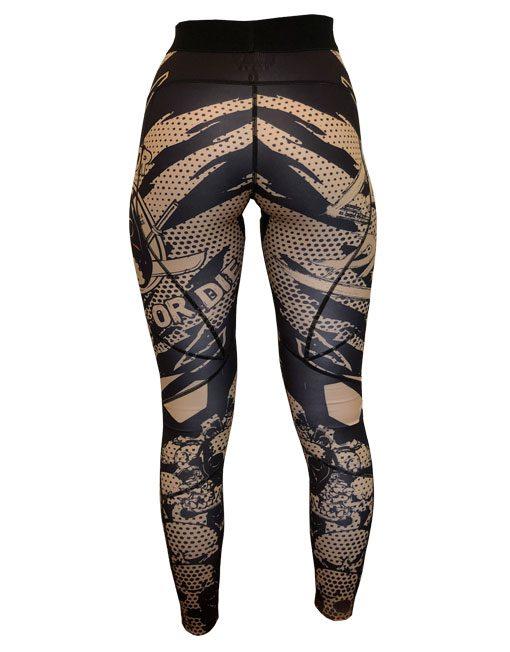 legging musculation femme - legging fitness femme - warrior gear
