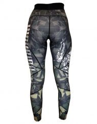 legging musculation femme warrior - legging fitness warrior gear - legging fitness camo