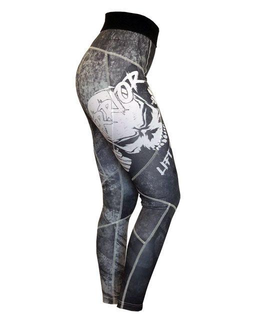 legging powerlifting femme - legging fitness warrior gear