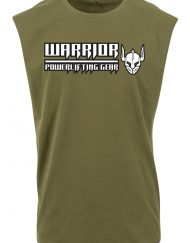 tshirt sans manche warrior powerlifting gear