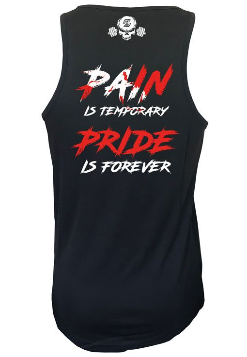debardeur pain is temporary pride is forever