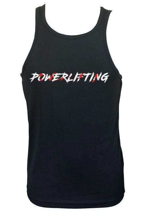 debardeur powerlifting - debardeur musculation